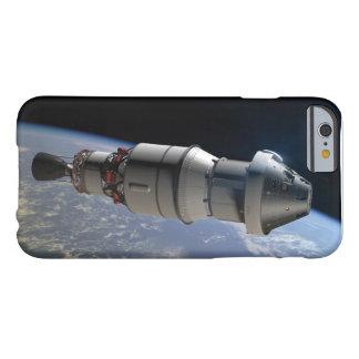 Cápsula de Orión y superior-etapa del delta IV en Funda De iPhone 6 Barely There