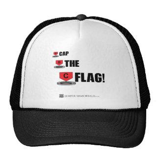 ¡Capsule la bandera! Gorros