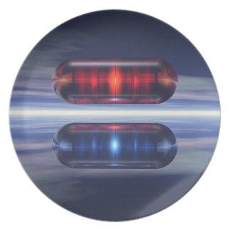 Capsules In Space Dinner Plate