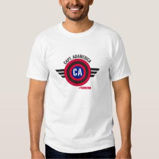 Capt Adamerica Tshirt