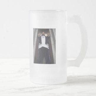 Capt. Crunk Frosted Glass Beer Mug