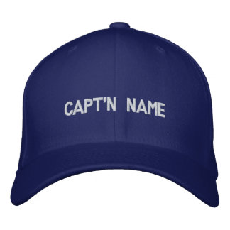 Capt n bordó el gorra gorra bordada