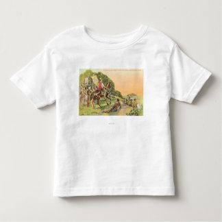 Capt. Portola's First View T-shirts