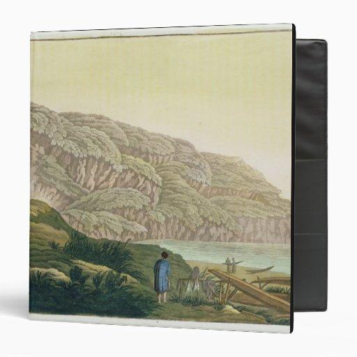 """Captain a Cook (1728-79) en Alaska durante su Carpeta 1 1/2"""""""