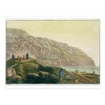 Captain a Cook (1728-79) en Alaska durante su Postales