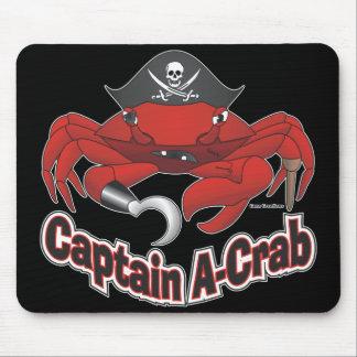 """Captain """"A-Crab"""" Mouse Pad"""