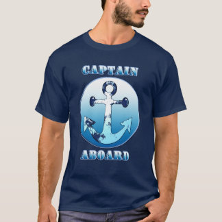 Captain Aboard T-Shirt