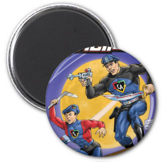 Captain Action- Murphy Anderson 2 Inch Round Magnet