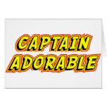 Captain Adorable Card