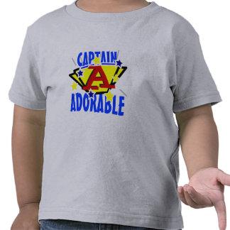 Captain Adorable Cute Toddler Tee