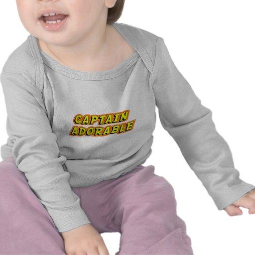 Captain Adorable T-shirts
