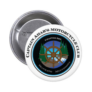 Captain Ahab's Motorcycle Club Button