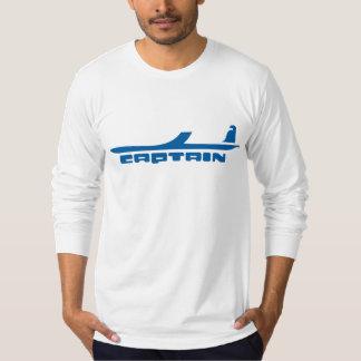 captain airplane design t shirts