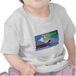 Captain Amazing Flying- Side Tshirts
