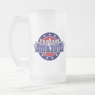 Captain Amazing Glass Mug