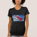 Captain Amazing in Flight T-shirts