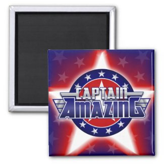 Captain Amazing Magnet magnet