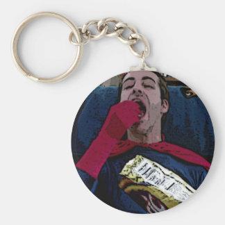 Captain Amazing Snacking Keychains