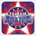 Captain Amazing Sticker