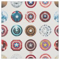 Captain America 75th Anniversary Shield Pattern Fabric