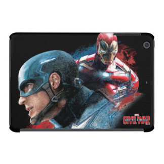 Captain America And Iron Man Painting iPad Mini Retina Cover