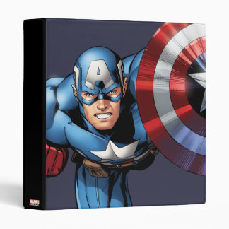 Captain America Assemble Binder