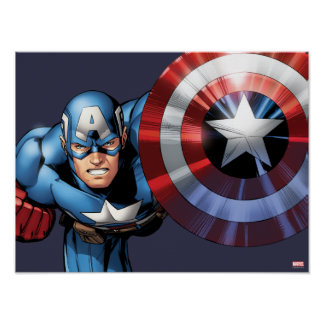 Captain America Assemble Poster