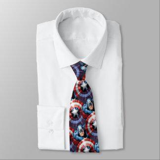 Captain America Assemble Tie