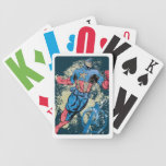 Captain America Avenger Grunge Graphic Poker Cards