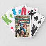 Captain America Comic #100 Bicycle Playing Cards