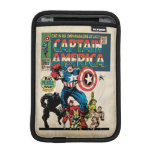 Captain America Comic #100 Sleeve For iPad Mini