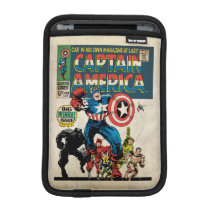 Captain America Comic #100 Sleeve For iPad Mini