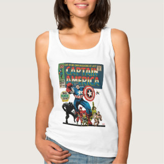 Captain America Comic #100 Tank Top