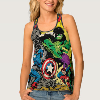 Captain America Comic #110 Tank Top