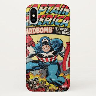 Captain America Comic #193 iPhone X Case