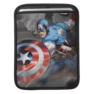 Captain America Deflecting Attack Sleeve For iPads