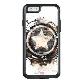 Captain America Grunge Shield OtterBox iPhone 6/6s Case