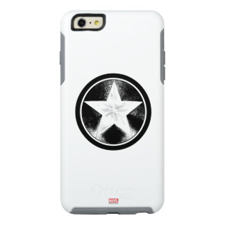Captain America Grunge Shield OtterBox iPhone 6/6s Plus Case