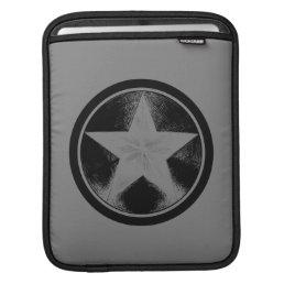 Captain America Grunge Shield Sleeve For iPads