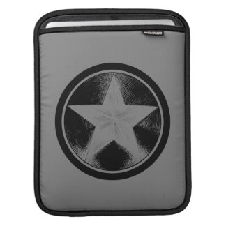 Captain America Grunge Shield Sleeve For iPads