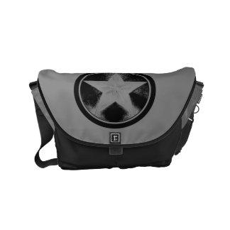 Captain America Grunge Shield Small Messenger Bag