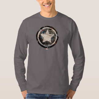 Captain America Grunge Shield T-Shirt