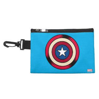 Captain America Halftone Shield Accessory Bag