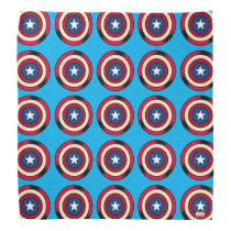 Captain America Halftone Shield Bandana