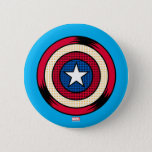 "Captain America Halftone Shield Button<br><div class=""desc"">Avengers Classics 