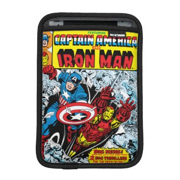 Captain America & Iron Man Marvel Double Feature iPad Mini Sleeve