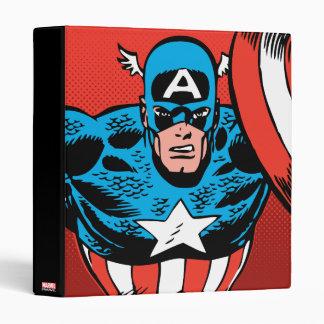 Captain America Jump 3 Ring Binder