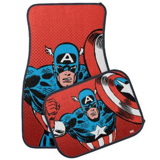 Captain America Jump Car Mat