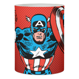 Captain America Jump Flameless Candle
