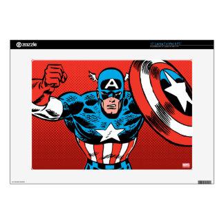 Captain America Jump Skins For Laptops